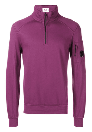 CP Company front zip pullover - Pink