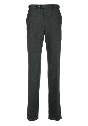 Brioni classic cropped trousers - Grey