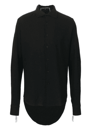 Cedric Jacquemyn high low hem shirt - Black