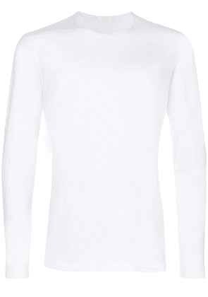 La Perla Skin long sleeve T-shirt - White