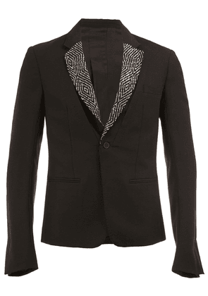 Haider Ackermann single breasted blazer - Black