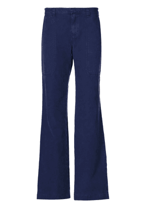 Burberry wide leg trousers - Blue