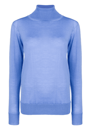 Erika Cavallini classic turtleneck knit - Blue