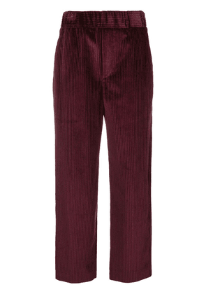 Isabel Marant corduroy trousers - Red