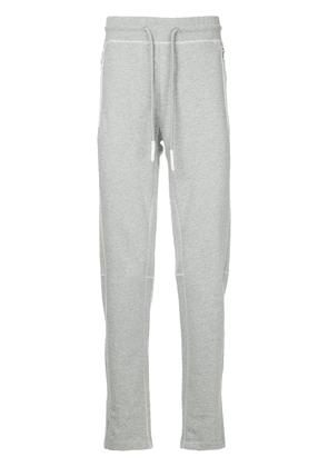 Moncler drawstring fitted trousers - Grey