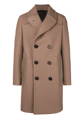 Lanvin double breasted coat - Neutrals