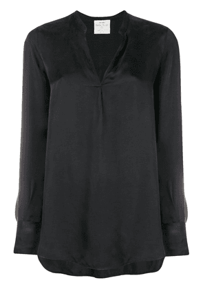 Forte Forte band collar blouse - Black