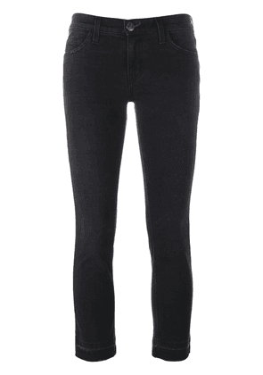 Current/Elliott frayed hem jeans - Black