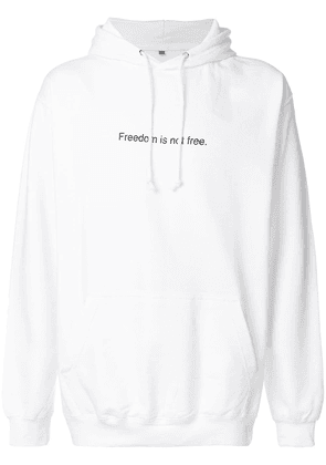 F.A.M.T. Freedom Is Not Free hoodie - White