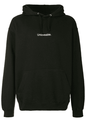 F.A.M.T. Unloveable hoodie - Black