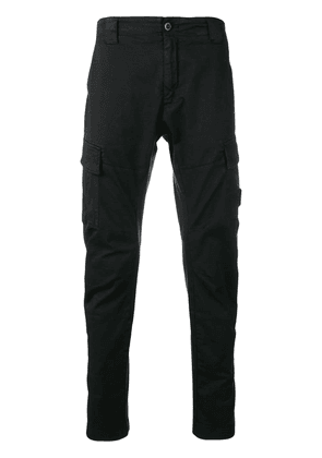 CP Company slim-fit cargo trousers - Black