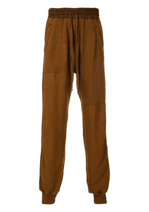 Haider Ackermann jogging pants - Brown