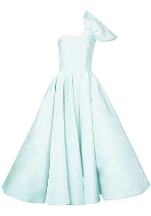 Christian Siriano one shoulder ball gown - Green