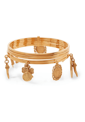 Dolce & Gabbana - Gold-tone Bangle - one size