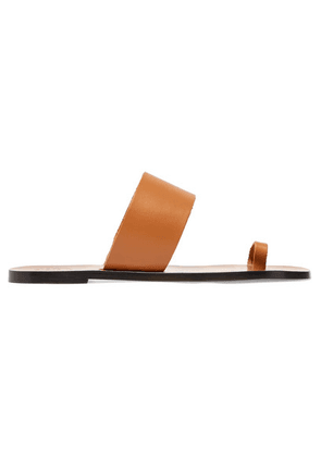 ATP Atelier - Astrid Leather Sandals - Tan