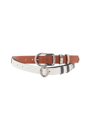 Dorothee Schumacher New Combinations Thin Leather Belt