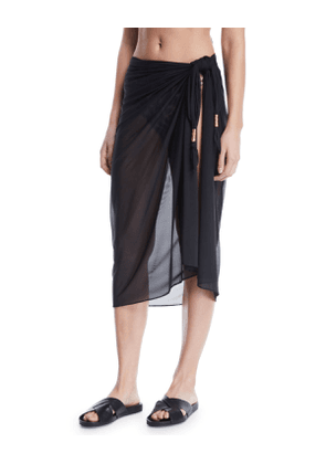 Semisheer Long Coverup Pareo