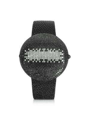 Christian Koban Designer Women's Watches, Clou Black Diamond Dinner Watch