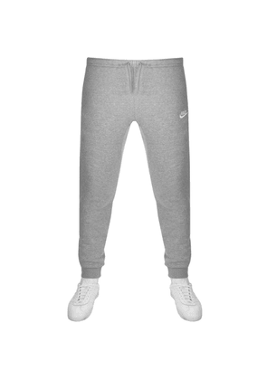 purchase cheap 5b2aa 2b267 Nike Club Tapered Fit Jogging Bottoms Grey