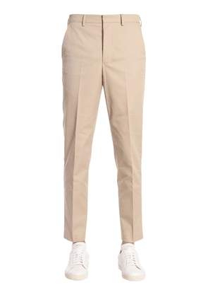 ami cropped carrot trousers