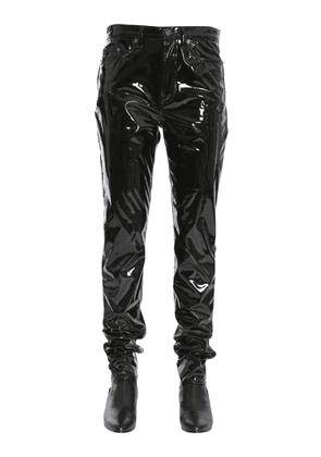 saint laurent mid waisted slim jeans