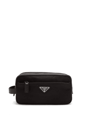 Prada - Logo Nylon Wash Bag - Mens - Black