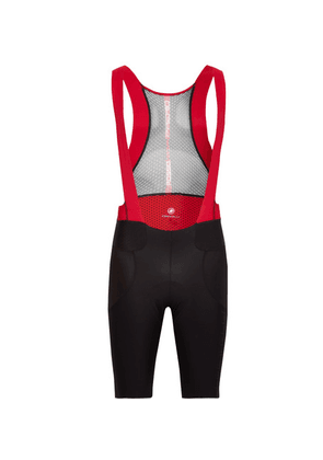 Castelli - Premio Mesh And Jersey Cycling Bib Shorts - Black