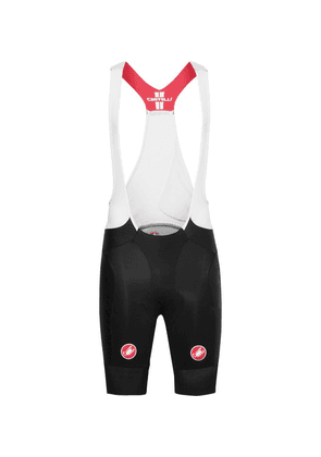 Castelli - Free Aero Race Vortex And Mesh Cycling Bib Shorts - Black
