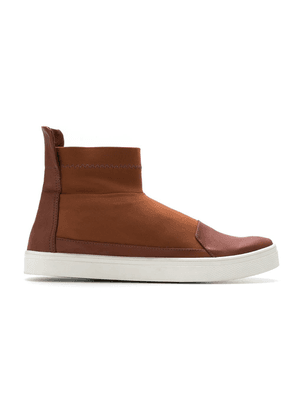 Gloria Coelho mid-top sneakers - Brown