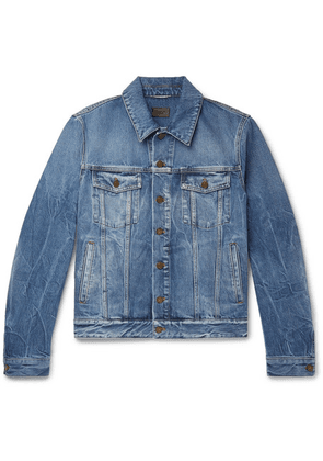 Saint Laurent - Denim Trucker Jacket - Blue