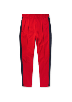 1bb390a15d84 Nike - + Martine Rose Slim-fit Tapered Striped Tech-jersey Track Pants -