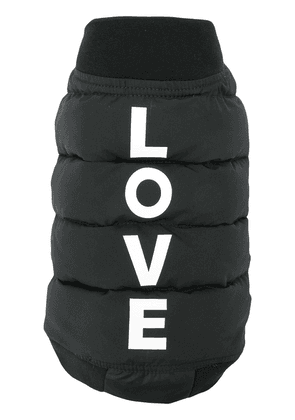Duvetica Duvetica x Katharine Hamnett London Love dog jacket - Black