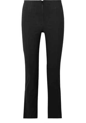 Isabel Marant - Jumpery Stretch Cotton-blend Skinny Pants - Black