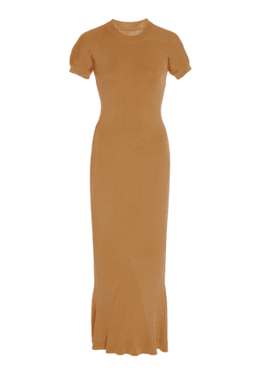 bcaa8320cab Brandon Maxwell Knotted One-Shoulder Cady Dress