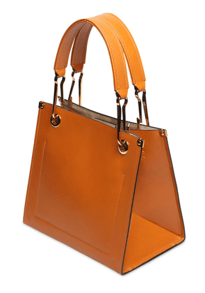 Grip Small Leather Tote Bag