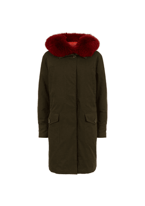 Hypolais Fur Trim Parka Jacket