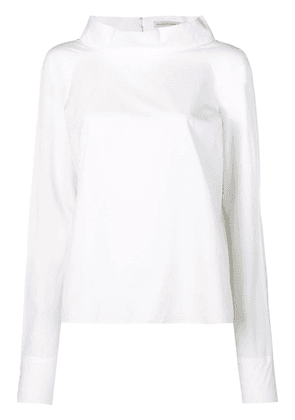 Balenciaga Vintage rear button-down shirt - White