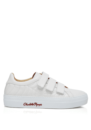Charlotte Olympia Sneakers Women - ALEXIS OFF WHITE CALF 36