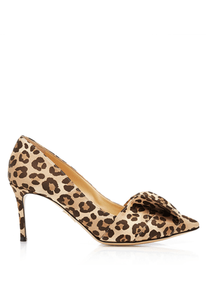 Charlotte Olympia Pumps Women - PARTY PUMPS LEOPARD CREPE SATIN 36,5