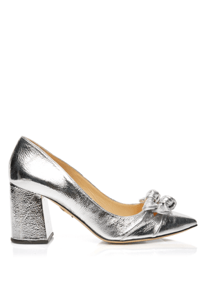 Charlotte Olympia Pumps Women - BROOKE SILVER METALLIC kid leather 36,5
