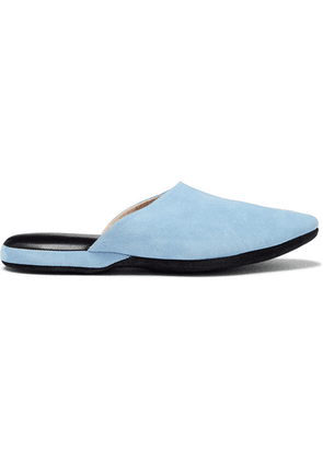 Charvet - Suede Slippers - Blue