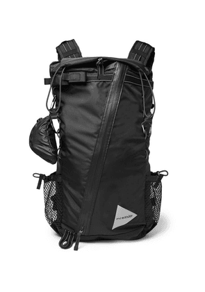 And Wander - 30l Shell Backpack - Black