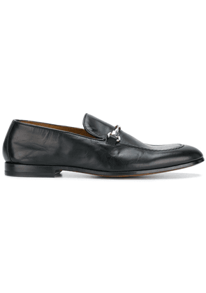 Doucal's horsebit front loafers - Black