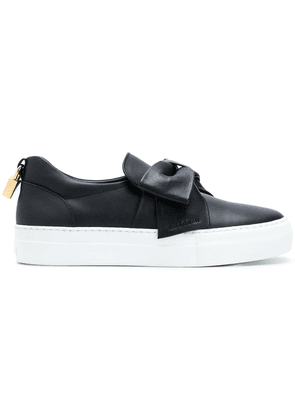 Buscemi bow detail sneakers - Black