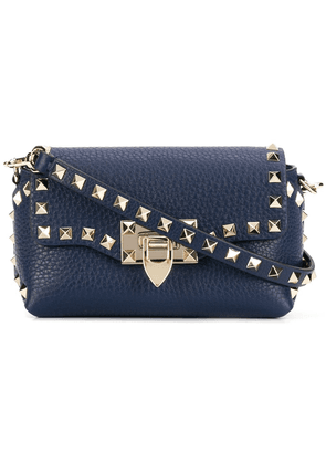 Valentino mini Rockstud crossbody bag - Blue