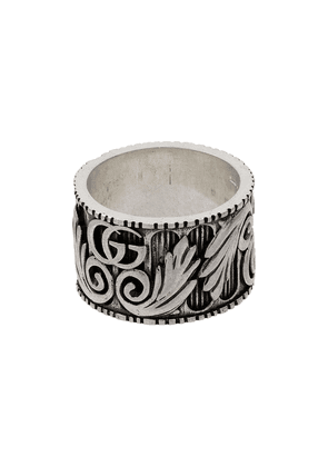Gucci Marmont GG sterling silver ring