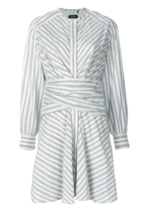 Isabel Marant striped Victoria dress - White