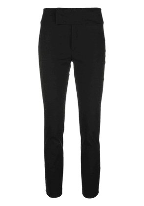 Isabel Marant cropped skinny trousers - Black