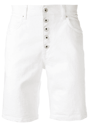 Dondup knee-length denim shorts - White