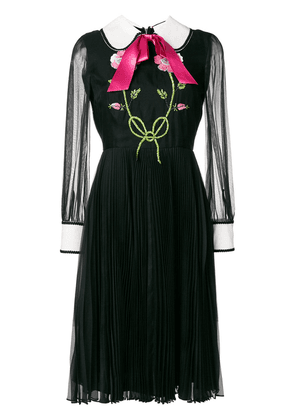 Gucci bow tie dress - Black